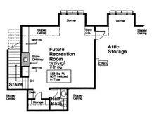 Second Floor of Plan ID: 45455