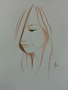Simple drawing  Colored pencils on paper A3