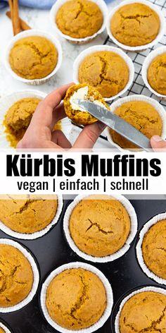 Vegan Dessert Recipes, Vegan Breakfast Recipes, Delicious Vegan Recipes, Vegan Sweets, Vegan Breakfast Muffins, Afternoon Snacks, Muffin Recipes, Chocolate Recipes, Chocolate Chips