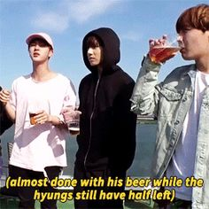BTS AND ALCOHOL HAHAHAHHAHAAHH