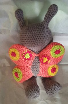 Butterfly dog toy etsy.com selectme1
