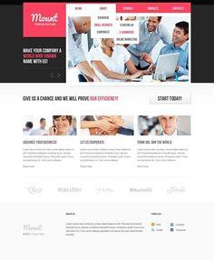 Inspiration guys!!   Business Website Template CLICK HERE! live demo  http://cattemplate.com/template/?go=2iOnR6j