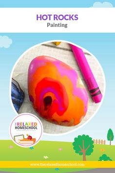 Got some old crayons and some extra time on your hands? Has summer boredom set in yet? I have a fun craft for you to try with your kids – using smooth rocks and crayons! It's simple and easy to do. Add this to your Science curriculum after studying rocks and minerals, or perhaps this could be an interesting way to use those rocks that your child found at the creek on your vacation. Preschool Arts And Crafts, Bee Crafts, Cool Science Experiments, Science Ideas, Melted Crayon Crafts, Bird Feeder Craft, Summer Boredom, Painting Activities, Science Curriculum