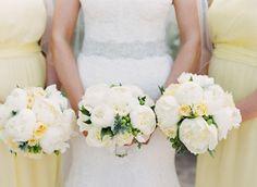 White peonies: http://www.stylemepretty.com/destination-weddings/2015/04/15/elegant-amalfi-coast-dream-wedding-in-ravello-italy/   Photography: Alicia Swedenborg - http://www.aliciaswedenborg.com/