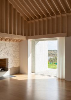 Timber Architecture, Contemporary Architecture, Architecture Details, Belmont House, Gable House, Timber Ceiling, Rural House, Country Barns, Cabin Interiors