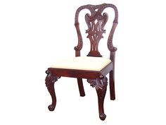 Antique Chippendale Chair Mahogany
