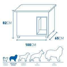 Double Dog House, Big Dog House, Dog House Plans, Modern Dog Houses, Cool Dog Houses, Pallet Dog House, Cavachon Puppies, Dog Bowl Stand, Cat Towers