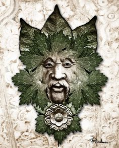 Green man, I need one to hang in my garden :)