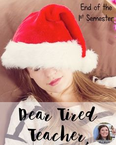 Dear Tired Teacher, What if Christmas cheer only comes to your students at school and not at home?