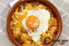 Spanish Kitchen, Spanish Food, Egg Recipes, Yummy Recipes, Deli, Cooking Time, Cheeseburger Chowder, Tapas, Eggs