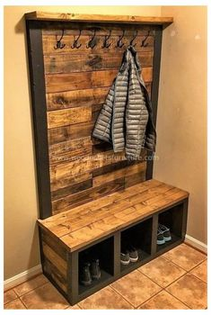 Diy Pallet Furniture, Diy Pallet Projects, Ikea Furniture, Furniture Projects, Furniture Plans, Rustic Furniture, Furniture Design, Pallet Ideas, Furniture Stores