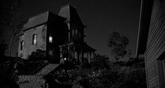 I read somewhere that Hitchcock was inspired by an Edward Hopper painting in his creation of the Psycho house.