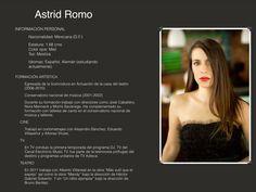 Astrid Romo / Talento Armonika MX
