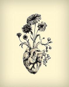 Heart Tattoo | Meagan Segal by christian