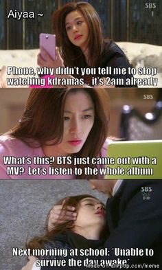All kdrama watchers can relate.. ^^this was me today. damn you healer!!!