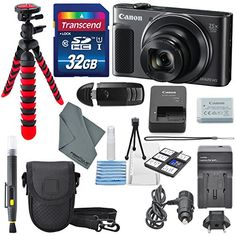Canon PowerShot SX620 HS Digital Camera along with 32GB Deluxe Accessory Bundle and Cleaning Kit * Read more reviews of the product by visiting the link on the image. #CameraAccessories