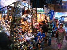 Colaba Causeway, Mumbai - Street shopping district popular for accessories!