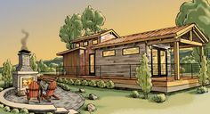 """""""America is having a big love affair with tiny houses."""""""