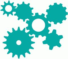 Silhouette Design Store - View Design #63881: gear cluster