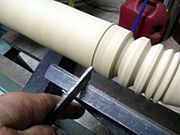 How to use a lathe.