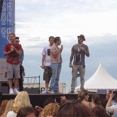 Radio-bsb: Videos & Fotos: Soundcheck + Show BSB en Ooestende...