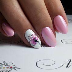 Pink Gel Nails, Glittery Nails, Nail Art Designs Videos, Best Nail Art Designs, Organic Nails, Square Nail Designs, Classic Nails, Pretty Nail Art, Square Nails
