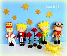 Mimos da Gil: decoração pequeno príncipe