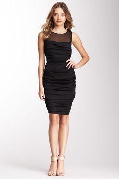 Ruched Tank Dress. Little black dress