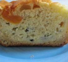 Cake roquefort, abricot