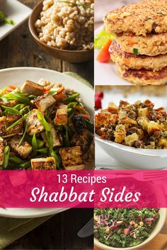 13 Shabbat Side Dishes That Are Not Kugels - Joy of Kosher