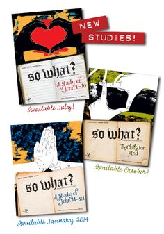 """Teens have questions. God's Word has answers.   """"So What?"""" Youth Bible Study Series"""