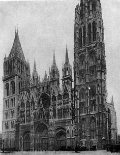 Собор в Руане. 1145-1506 гг.