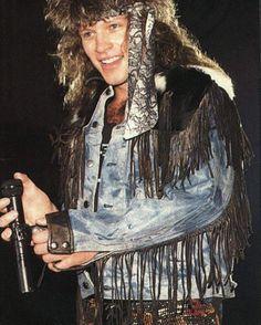 Jon Bon Jovi circa 1986 @anderbj | Tumblr
