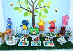 Backyardigan birthday party {dessert table}  by Gabriel and Belle Celebrations