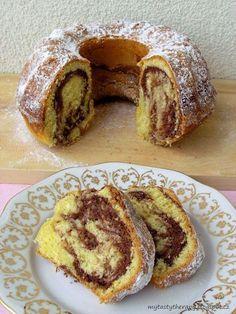 Slovakian Food, Croation Recipes, Bunt Cakes, Good Food, Yummy Food, Czech Recipes, Almond Cakes, Food Hacks, Sweet Recipes