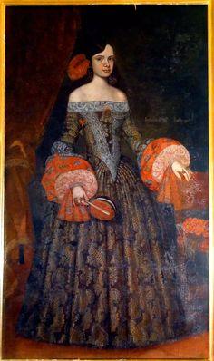 Catherine de Bragance, infante de Portugal, reine d'Angleterre, jeune fille