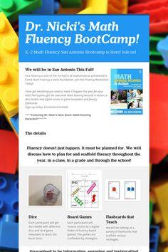 Dr. Nicki's Math Fluency BootCamp!