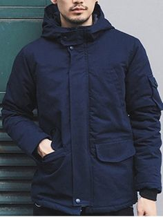 GET $50 NOW | Join RoseGal: Get YOUR $50 NOW!http://www.rosegal.com/mens-jackets/hooded-pockets-design-padded-jacket-928705.html?seid=8119039rg928705
