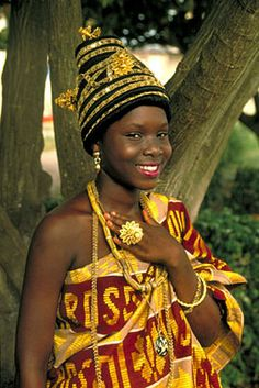 Fanti Princess at a Royal Durbar.  Sunset Vacations - Ghana - Photo Gallery