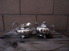 Vintage Silver Plate Sheffield Reproduction by TiesofMyFather