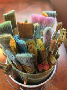 Art Studio Paint Brushes