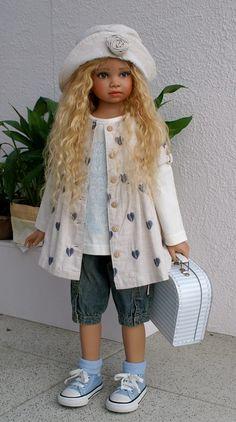 Anushka,new doll by Angela Sutter