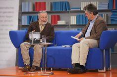 György Dalos auf dem Blauen Sofa der LBM 2012, via Flickr.