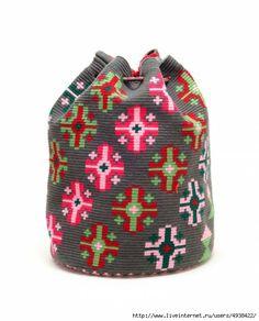 Come fare una borsa Wayuu? Tapestry Bag, Tapestry Crochet, Mochila Crochet, Crochet Backpack, Hippie Crochet, Boho Bags, Bohemian Bag, Crochet Purses, Girls Bags