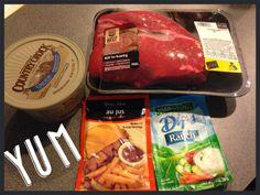 My Daily Running Journey: Au Jus Ranch Crock Pot Roast