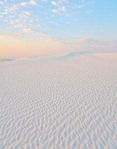 Dawn at White Sands National Park, New Mexico