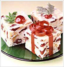 White Christmas Fudge recipe | Christmas recipes