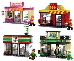 Depuis toujours les fans de la pomme et amateurs de LEGO se sont amusés à recréer toutes sortes de produits Apple, mais
