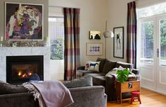 desire to inspire - desiretoinspire.net - Julia Green - Love this Eclectic Space