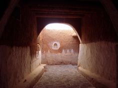 Here is the entrance to the old city of Ghadames. It is beautiful and intoxicating, but people are forbidden to live there. Ghaddafi evacuated the city at gunpoint and forced everyone into modern concrete block housing.